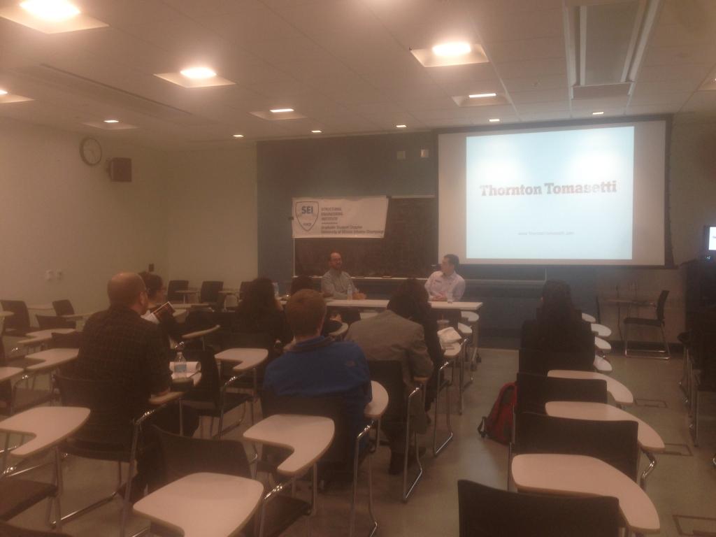 Professional Seminar with Thornton Tomasetti